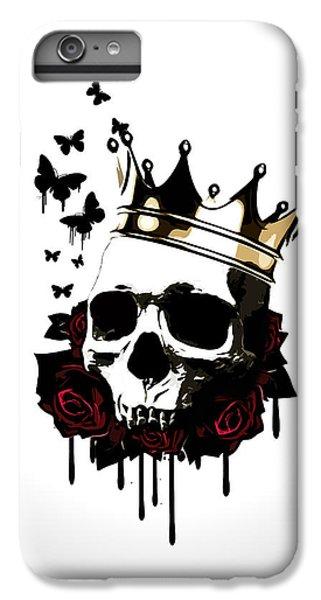 Rose iPhone 6 Plus Case - El Rey De La Muerte by Nicklas Gustafsson