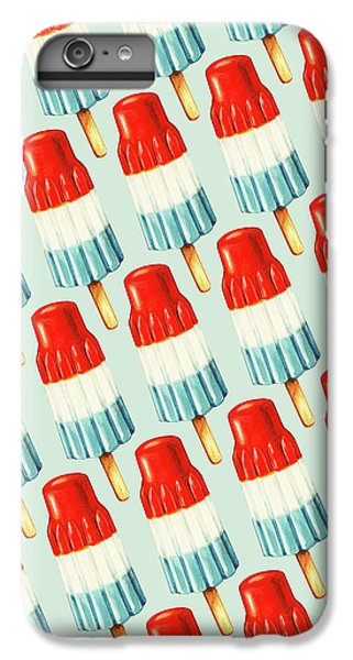 Bomb Pop Pattern IPhone 6 Plus Case by Kelly Gilleran
