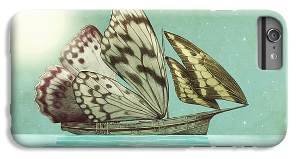 Butterfly iPhone 6 Plus Case - The Voyage by Eric Fan