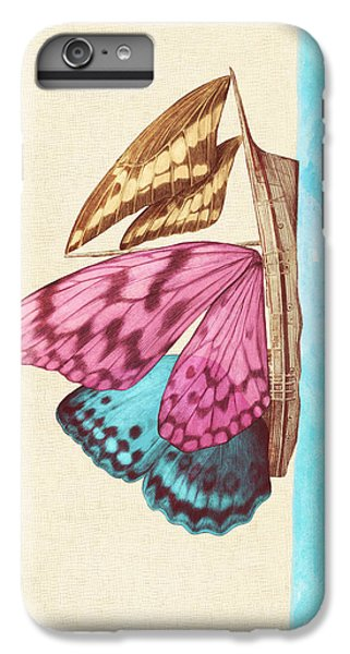 Butterfly Ship IPhone 6 Plus Case