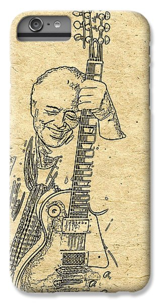 Rock Music Jimmy Page iPhone 6 Plus Case - Jimmy Page Quote by Sara Pixel Pixie