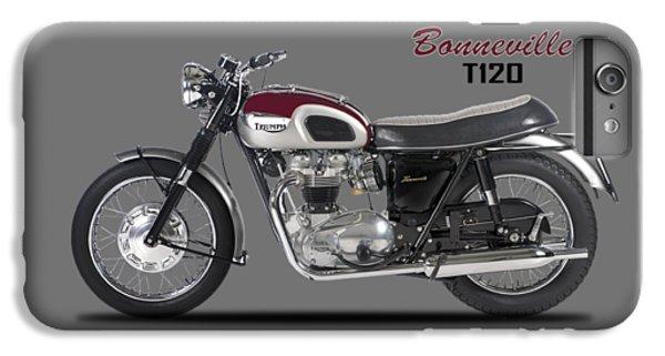 Transportation iPhone 6 Plus Case - Triumph Bonneville T120 1968 by Mark Rogan