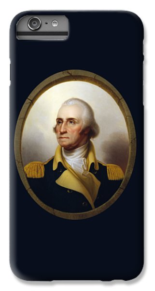 General Washington - Porthole Portrait  IPhone 6 Plus Case by War Is Hell Store