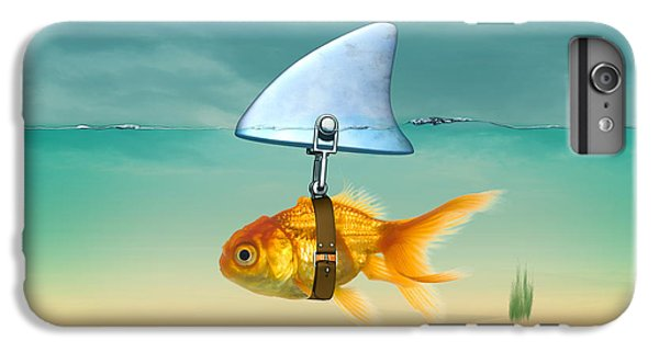 Nature iPhone 6 Plus Case - Gold Fish  by Mark Ashkenazi