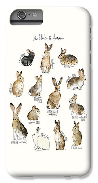 Rabbits And Hares IPhone 6 Plus Case