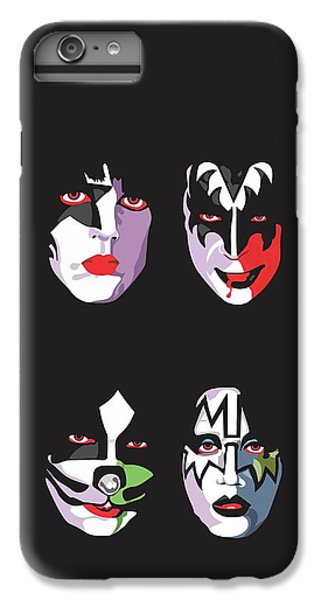 Music iPhone 6 Plus Case - Kiss by Troy Arthur Graphics