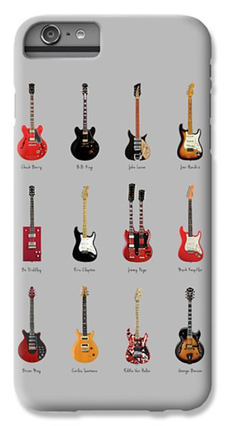 Guitar Icons No1 IPhone 6 Plus Case by Mark Rogan