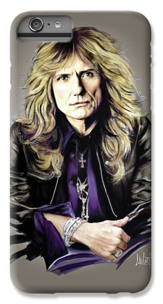 David Coverdale IPhone 6 Plus Case by Melanie D
