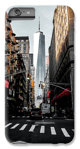 Times Square iPhone 6 Plus Case - Lower Manhattan One Wtc by Nicklas Gustafsson