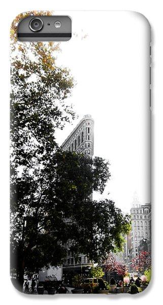 Times Square iPhone 6 Plus Case - Flatiron Autumn  by Nicklas Gustafsson