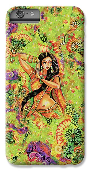 IPhone 6 Plus Case featuring the painting Dancing Nithya by Eva Campbell