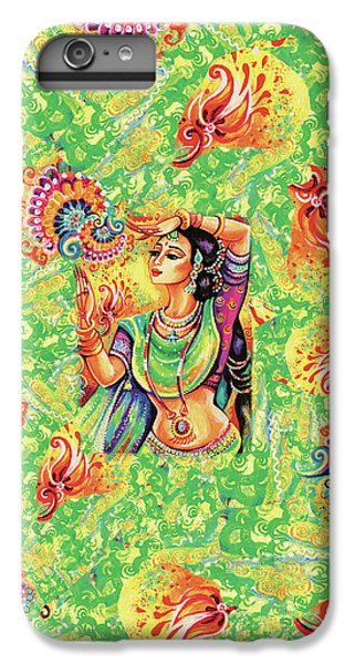 IPhone 6 Plus Case featuring the painting The Dance Of Tara by Eva Campbell