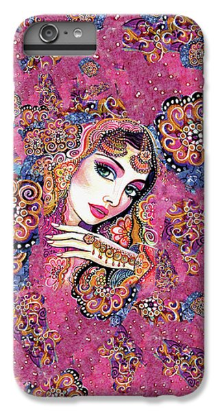 IPhone 6 Plus Case featuring the painting Kumari by Eva Campbell