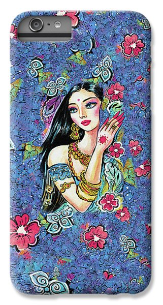IPhone 6 Plus Case featuring the painting Gita by Eva Campbell