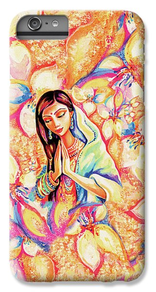 IPhone 6 Plus Case featuring the painting Little Himalayan Pray by Eva Campbell