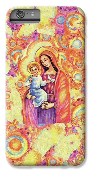 IPhone 6 Plus Case featuring the painting Blessing Of The Light by Eva Campbell