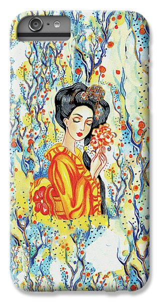 IPhone 6 Plus Case featuring the painting Harmony by Eva Campbell