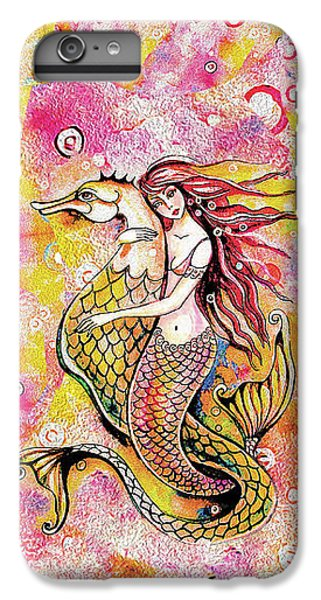 Black Sea Mermaid IPhone 6 Plus Case