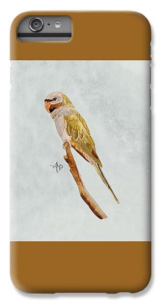 Derbyan Parakeet IPhone 6 Plus Case by Angeles M Pomata