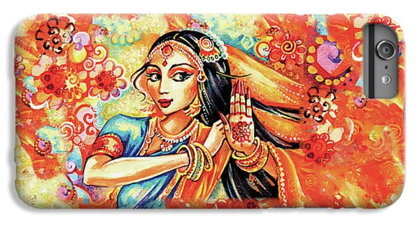 IPhone 6 Plus Case featuring the painting Sun Ray Dance by Eva Campbell