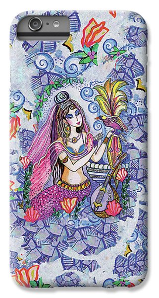 IPhone 6 Plus Case featuring the painting Scheherazade's Bird by Eva Campbell