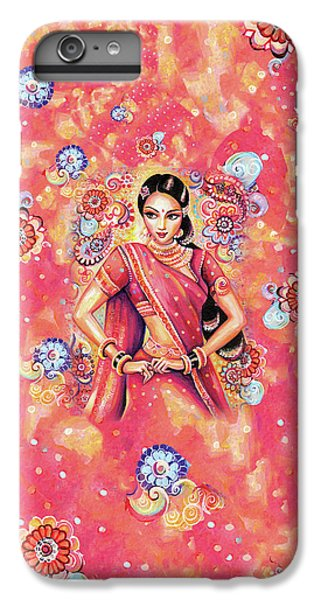 IPhone 6 Plus Case featuring the painting Devika Dance by Eva Campbell