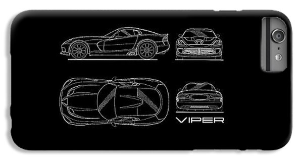 Srt Viper Blueprint IPhone 6 Plus Case