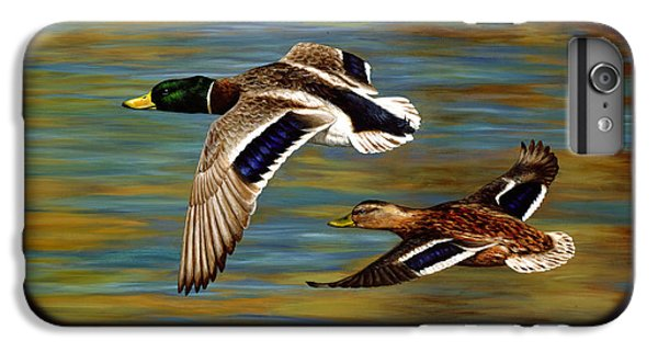 Golden Pond IPhone 6 Plus Case by Crista Forest