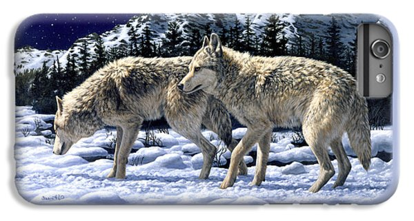 Wolves - Unfamiliar Territory IPhone 6 Plus Case by Crista Forest