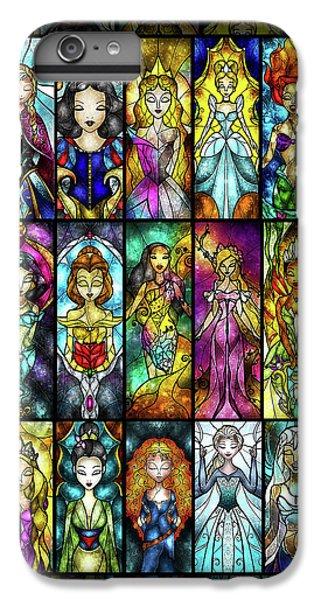 The Princesses IPhone 6 Plus Case by Mandie Manzano