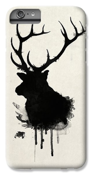 Deer iPhone 6 Plus Case - Elk by Nicklas Gustafsson