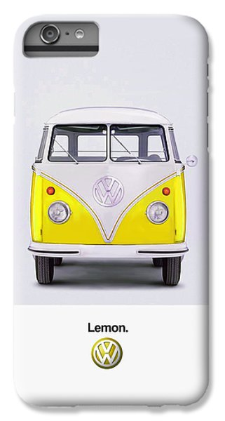 Lemon IPhone 6 Plus Case by Mark Rogan