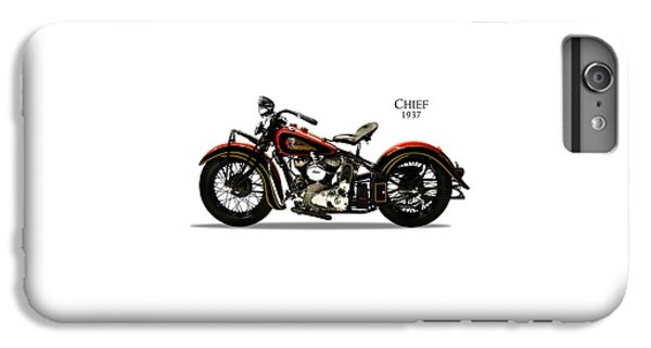 Indian Chief 1937 IPhone 6 Plus Case by Mark Rogan
