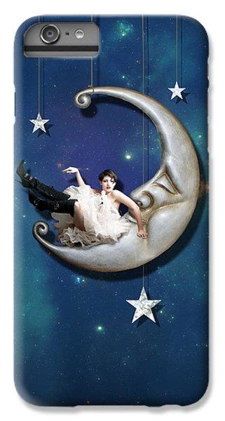 Paper Moon IPhone 6 Plus Case by Linda Lees