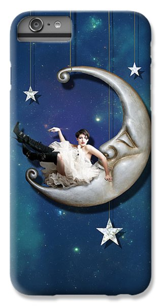 Fantasy iPhone 6 Plus Case - Paper Moon by Linda Lees