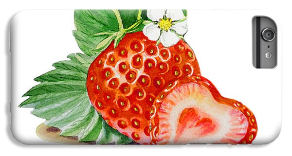 Artz Vitamins A Strawberry Heart IPhone 6 Plus Case