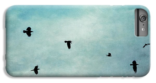 As The Ravens Fly IPhone 6 Plus Case by Priska Wettstein