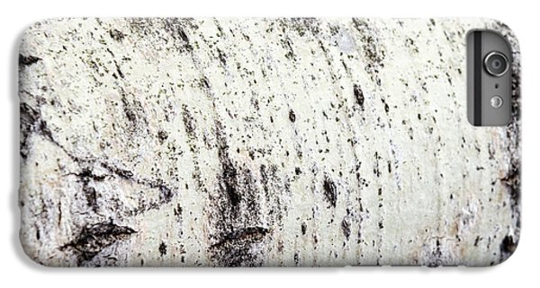 IPhone 6 Plus Case featuring the photograph Aspen Tree Bark by Christina Rollo