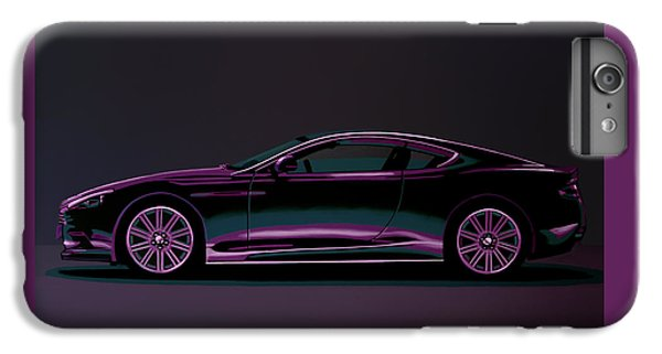 Beetle iPhone 6 Plus Case - Aston Martin Dbs V12 2007 Painting by Paul Meijering