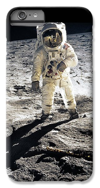 Astronauts iPhone 6 Plus Case - Astronaut by Photo Researchers