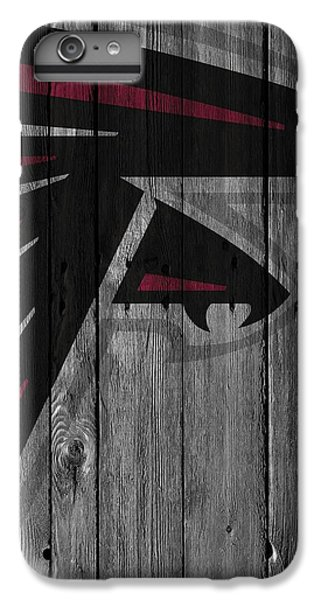 Atlanta Falcons Wood Fence IPhone 6 Plus Case