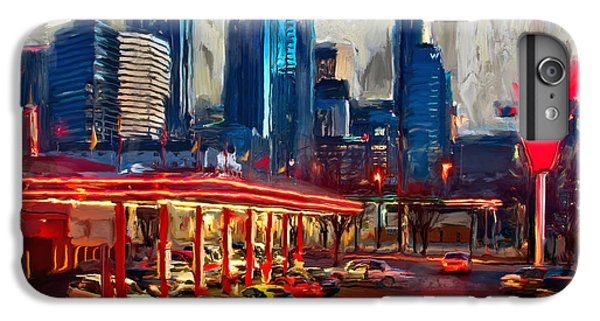 Atlanta Skyline 231 1 IPhone 6 Plus Case by Mawra Tahreem