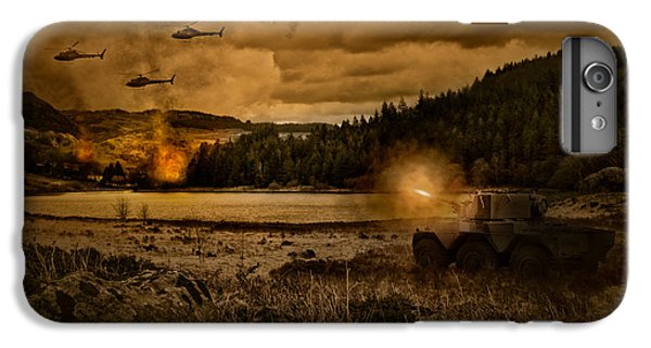 Attack At Nightfall IPhone 6 Plus Case by Amanda Elwell