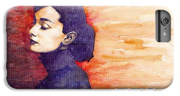 iPhone 6 Plus Case - Audrey Hepburn 1 by Yuriy Shevchuk