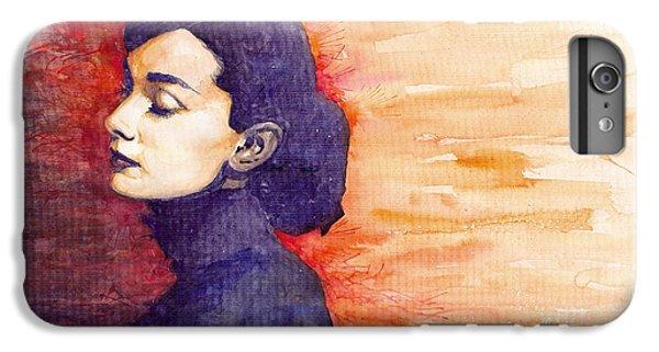 Audrey Hepburn 1 IPhone 6 Plus Case by Yuriy  Shevchuk
