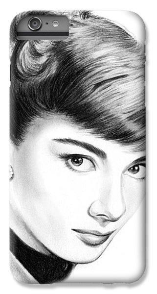 Audrey Hepburn IPhone 6 Plus Case by Greg Joens