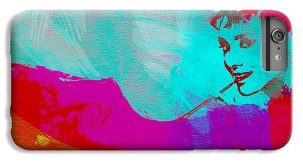Audrey Hepburn IPhone 6 Plus Case by Naxart Studio