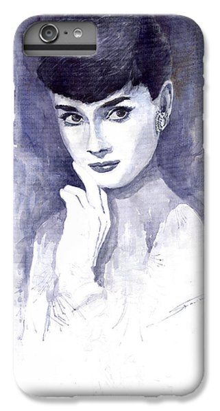 Audrey Hepburn  IPhone 6 Plus Case by Yuriy  Shevchuk