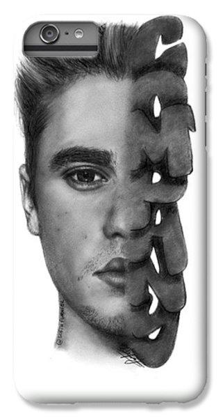 iPhone 6 Plus Case - Justin Bieber Drawing By Sofia Furniel by Jul V