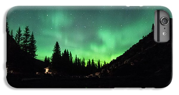 Aurora On Moraine Lake IPhone 6 Plus Case by Alex Lapidus